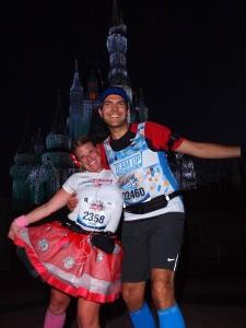 Outside Cinderella Castle