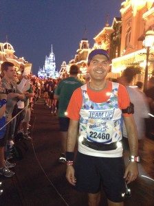Main Street USA in all its glory during the Half Marathon