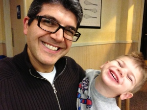 Me with Asher at IHOP