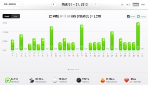 March 2013 - Nike+ Summary