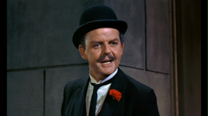 Mr Banks (actor David Tomlinson)