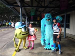 Our friends Mike and Sully from this years Walt Disney World Marathon