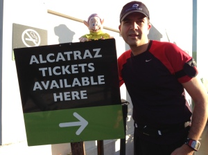 We cannot run to Alcatraz