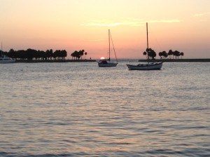 Sunrise in St Petersburg, FL