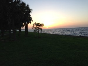 Sunrise in St Petersburg, FL