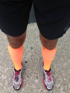Pro Compression Marathon Socks - Orange enough?