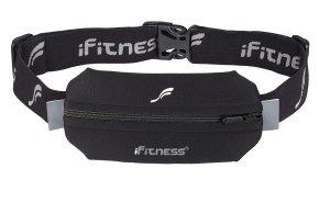 iFitness running belt (I use a double pocket on race days for gels)