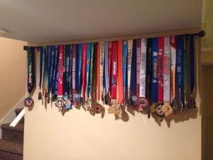 Our family medal collection 2011 to 2013