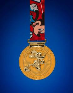 Mickey Mouse Full Marathon medal