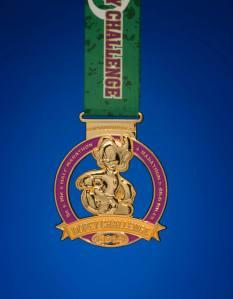 Dopey Challenge medal