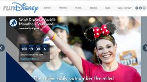 Countdown to Marathon Weekend (runDisney)