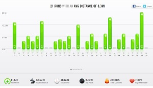 September 2013 – Nike+ Summary