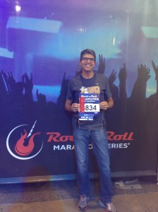 Race expo and bib pickup
