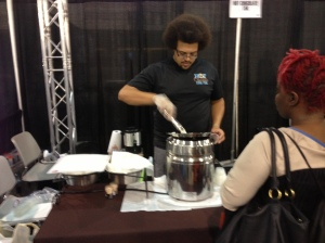 Chocolate fondue...enough said