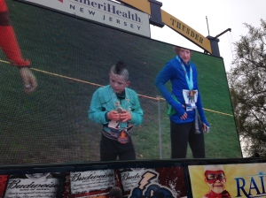 a 5 year old Half Marathoner. Impressive!