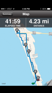 Tuesday's 4 miler