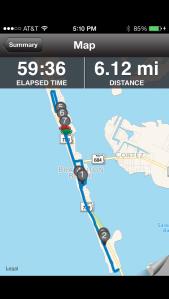 Monday's 6 miler