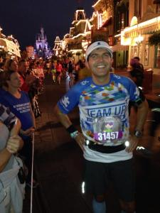 Here I am on Main Street USA - Magic Kingdom