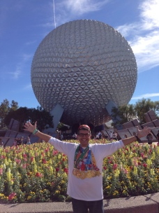 Celebrating at EPCOT