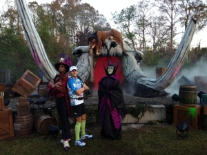 With Maleficent and Dr Facilier