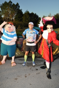 Together with Captain Hook and Mr Smee
