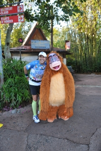 Stopping to meet King Louie