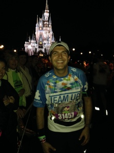 Main Street USA during the 2014 Marathon