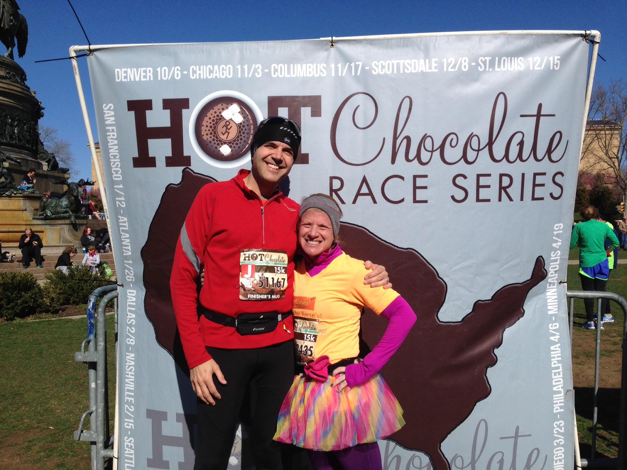 Hot Chocolate Run 15K Race Recap   philly2goofy