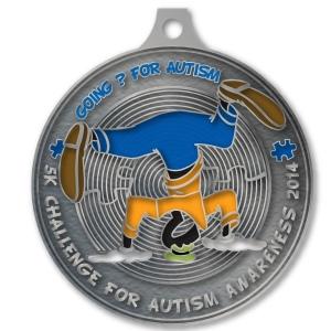 'Going Goofy' 5K medal
