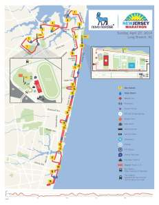 2014 New Jersey Marathon Course Map