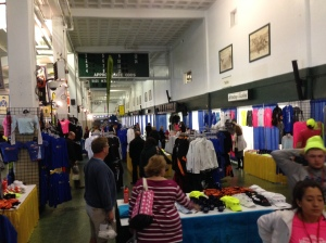 New Jersey Marathon Merchandise Area