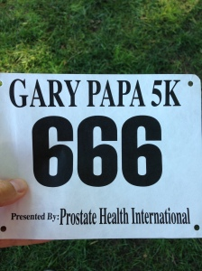 Seriously? I have to race with this number?