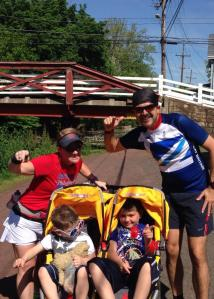 Our last stroller run - Memorial Day 2014