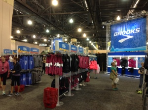 Plenty of Brooks race gear