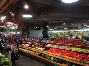 Wandering around the Reading Terminal Market