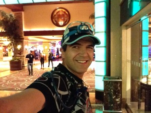 Wlaking through Harrahs Casino in Atlantic City, NJ at 4:30am
