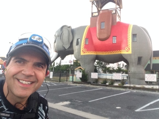Lucy the Elephant in Margate, NJ - Mile 9