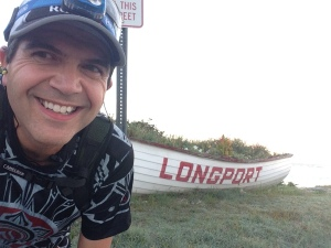 At the end of the road in Longport NJ - Mile 11