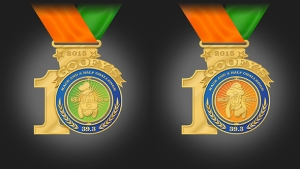 10th Anniversary Goofy Challenge Medal