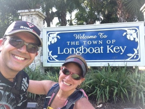 Long run on Longboat Key
