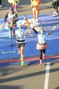 Our half marathon was in the books