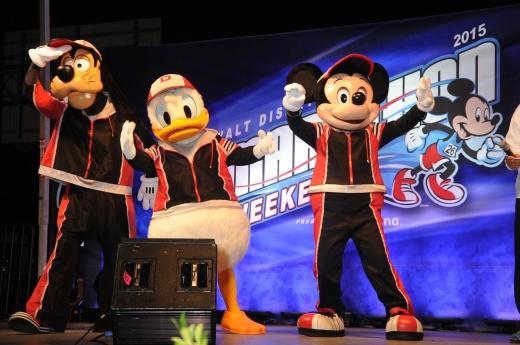Walt Disney World Marathon Weekend 2015