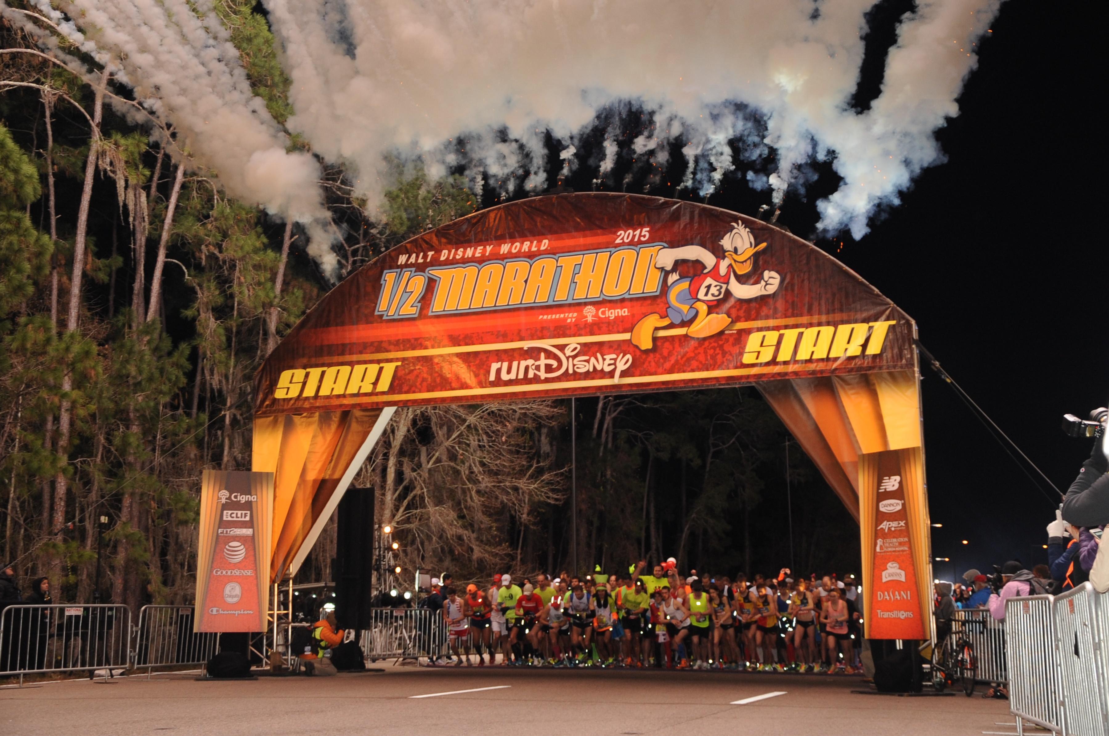 2015 Walt Disney World Marathon Weekend Part 2 Half