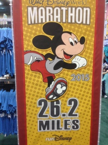 Checked out some of the merchandise for the marathon down this aisle