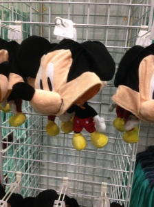 The Mickey hats were fun. They also had Donald and Goofy variants.