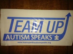2015 Team Up Autism Speaks team dinner