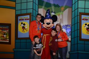 With Sorcerer Mickey