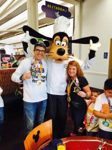 Breakfast with Chef Mickey and Goofy