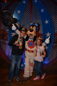 Sharing our Goofy with Goofy