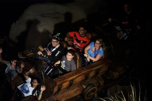 Seven Dwarfs Mine Train fun